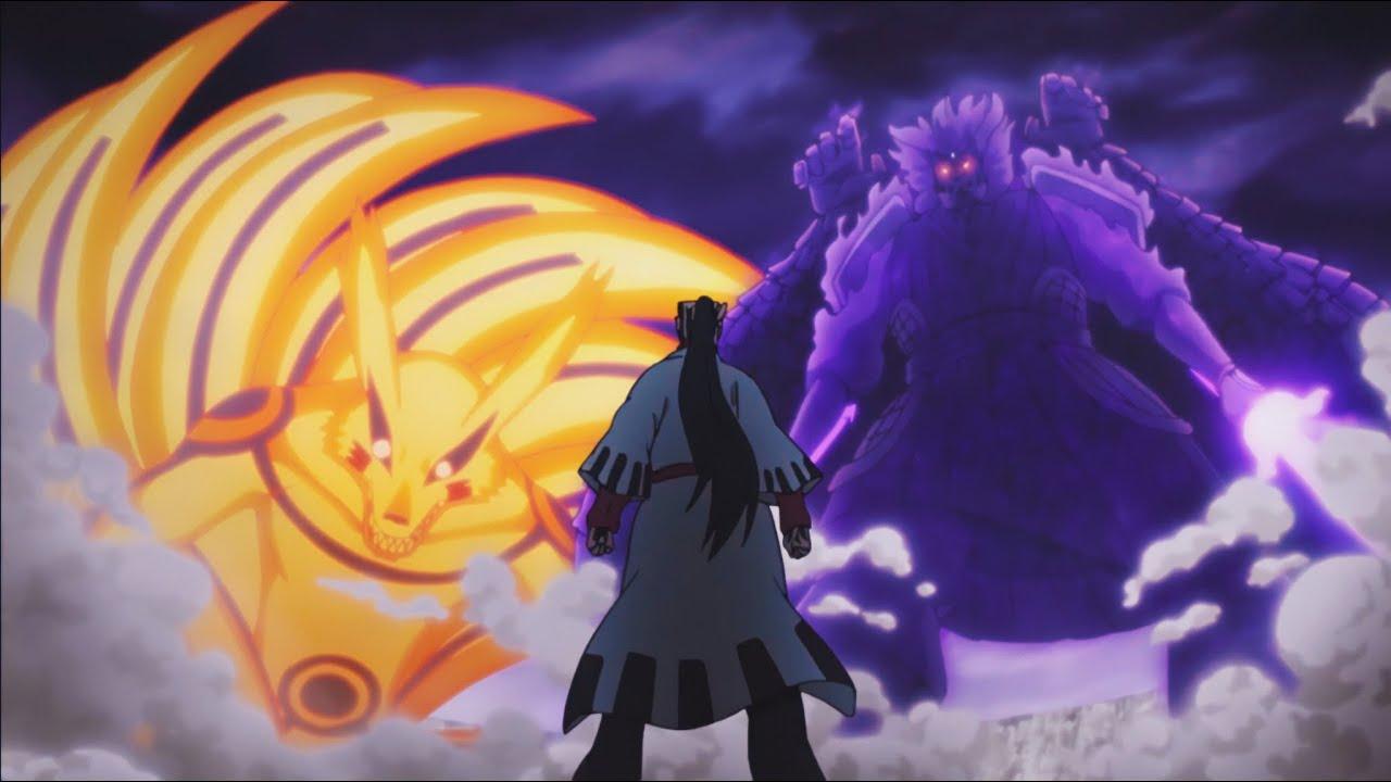 The Most LEGENDARY Fight! Naruto and Sasuke vs Jigen - YouTube