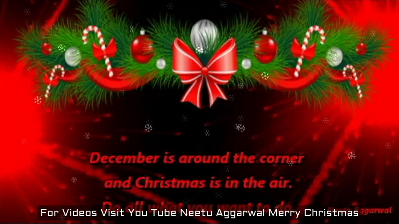 Welcome Christmas.Welcome December Welcome Christmas Month December Is In The Air Wishes Greetings Prayers Blessings