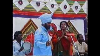 Mohamad sadiq and ranjit kaur Live akhara 1993 part 1