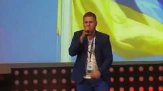 """Ukrainian Fair 2015 """"Разом до миру"""". Брiя Блесiнг & Антон Копитiн.  Sacramento"""