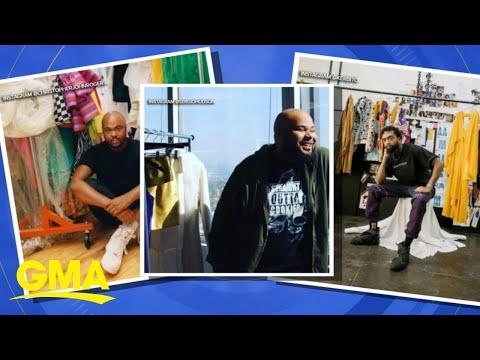 Black American fashion designers emerge during inauguration l GMA - Good Morning America
