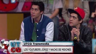 Youtubers Jorge y Nacho de Misiones - #Transmedia