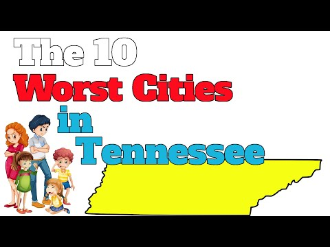 The 10 Worst Cities In Tennessee Explained