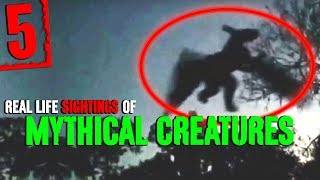 5 REAL Mythical Creature Sightings! - Darkness Prevails