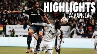 HIGHLIGHTS: Vancouver Whitecaps vs LA Galaxy | April 19, 2014