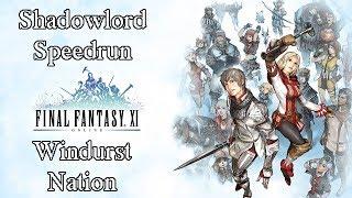 Final Fantasy 11 - Shadowlord Speedrun Non Event - Windurst