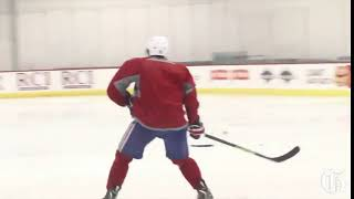 Хоккей Одиночное катание Легкие ноги защитника