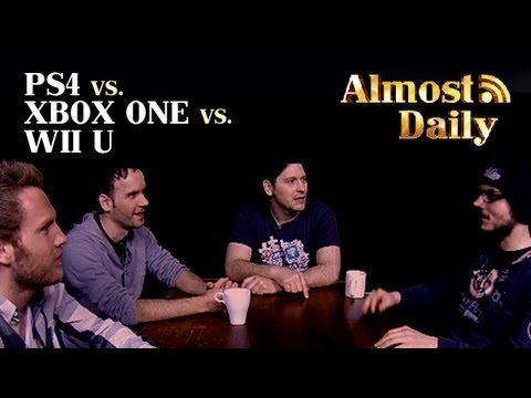 Almost Daily #16 - PS4 vs. Xbox One vs. Wii U - YouTube Xbox One Vs Ps4 Vs Wii U Vs Ouya