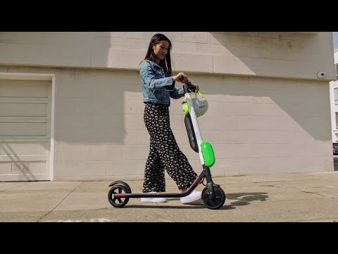 How to Park a Lime-S Electric Scooter