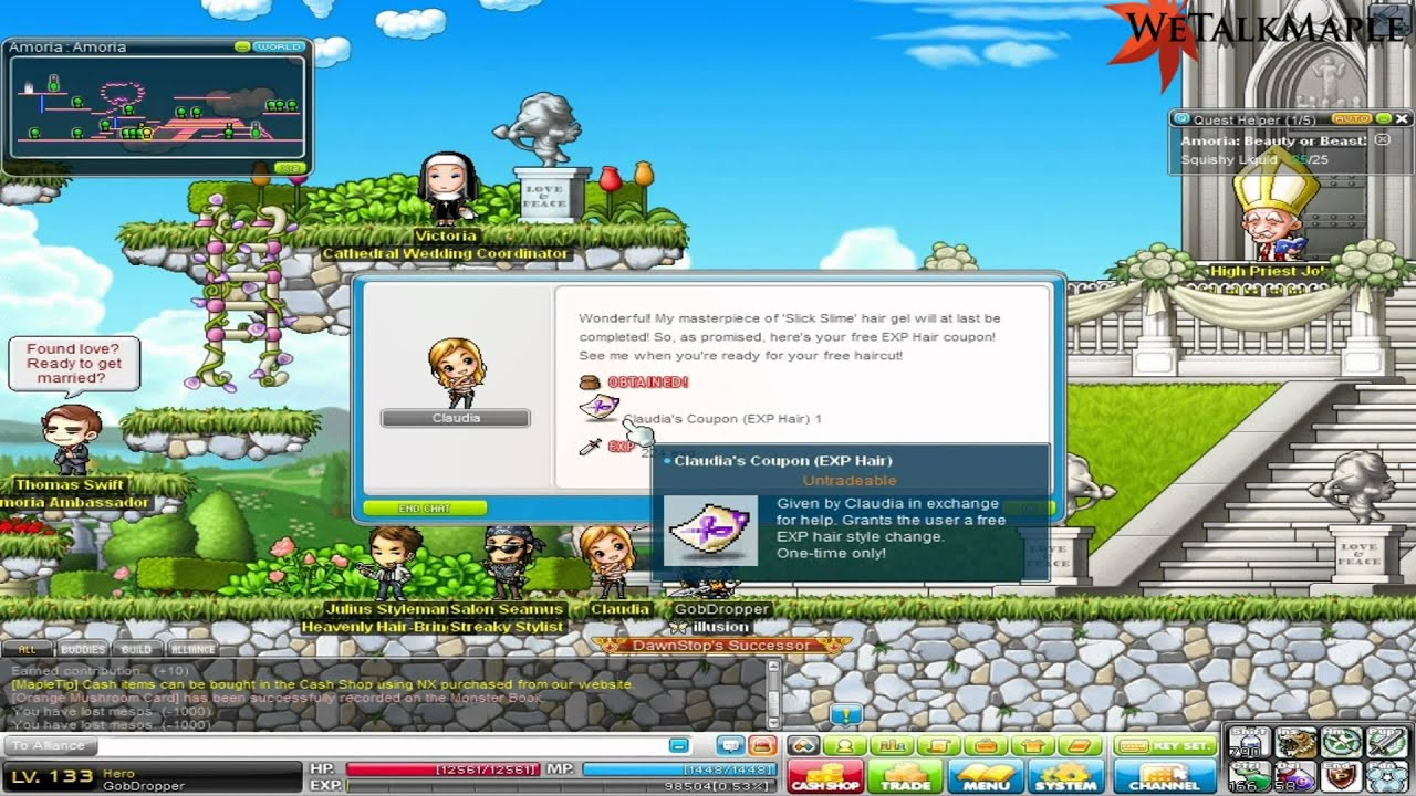 Maplestory tot vip hair coupon