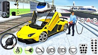 3D Driving Class New Car Simulator Ride in Airport! - Best Android Gameplay #6