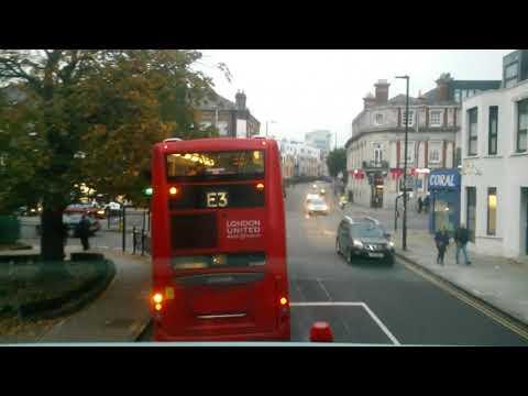 London United SP40149 - Route E3 Journey