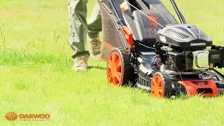 видео Самоходные бензиновые газонокосилки