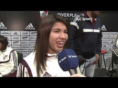 La emoción de la profesionalización del plantel femenino de River Plate