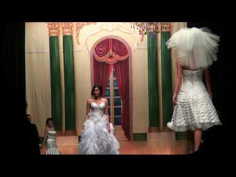 Sexy lingerie  Wedding Fashion Show - Tuxedo  & Hair Style - Bridal Flowers