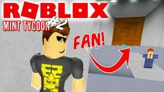 FAN SOM LOKKEMAD! - Roblox Mint Tycoon Ep 2 Dansk