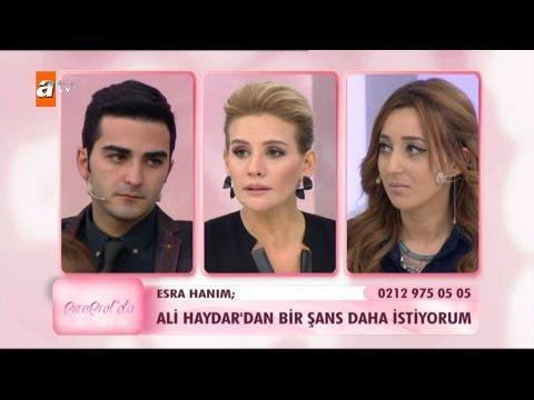 Ali Haydar'dan bir şans daha istiyorum - Esra Erol'da 101. Bölüm - atv