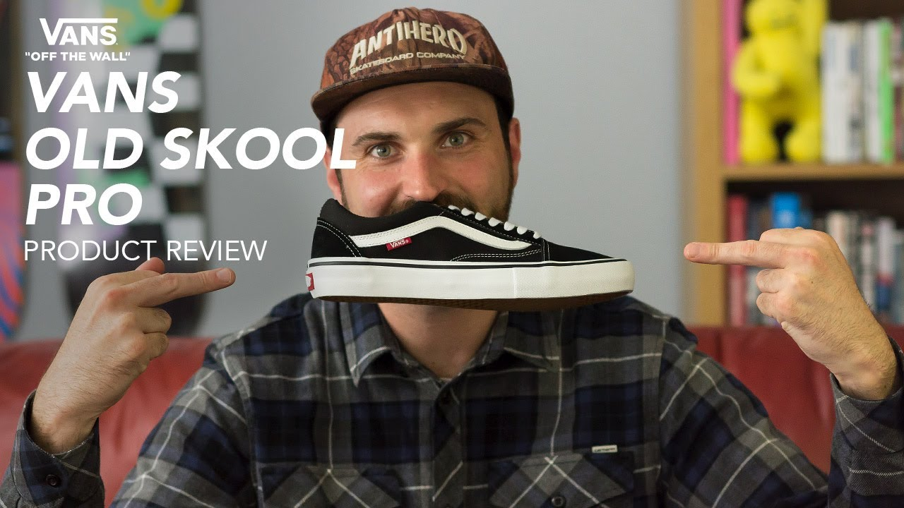 f7573d4caa2a Vans Old Skool Pro Skate Shoe Review - Rollersnakes.co.uk - YouTube