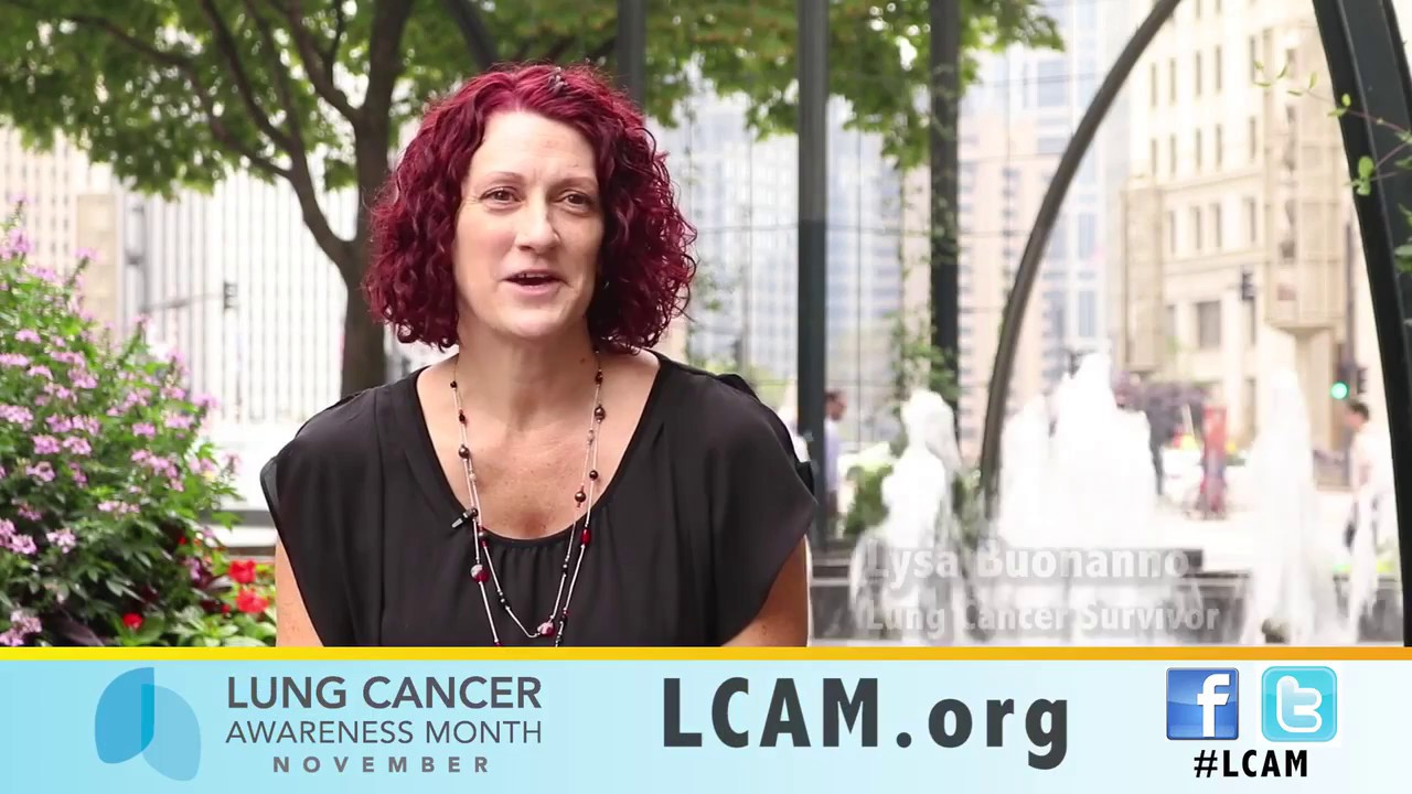 Stories of Hope   Lung Cancer Awareness Month