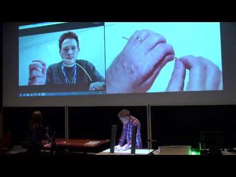 1B Mechanics Lecture with Dr Hugh Hunt and alumnus Andrew Smyth