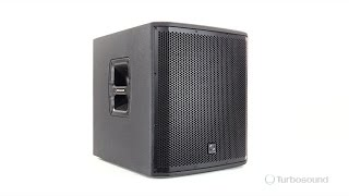 "TURBOSOUND iNSPIRE iP12B 1,000 Watt Powered 12"" Subwoofer"