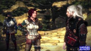 The WITCHER 2 Walkthrough Part 1 MAX Settings 1080p Ultra - HARD MODE PC GOTY first 10min