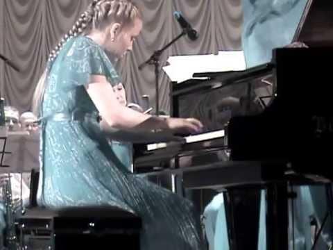 Bach D-moll  (part 1)-исполняет Валерия Гогия, И.С.Бах