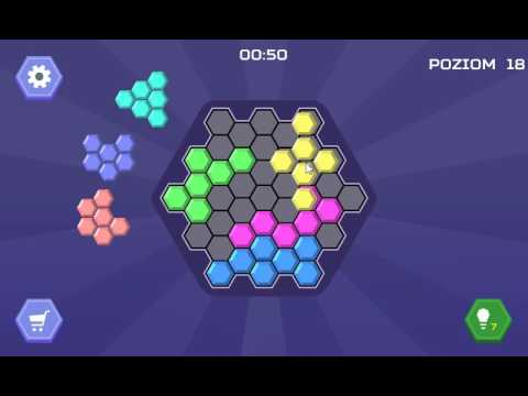 Hex Blocks Puzzle WALKTHROUGH TO LEVEL 20MEDIUM