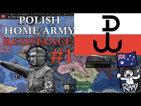 Polish Home Army Resistance - HOI4 Collaborate or Resist #1