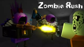 Playing zombie rush on roblox (Facecam) 😳😳😳