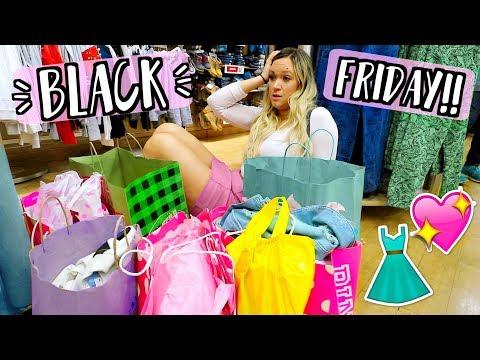 Black Friday Shopping 2017!! AlishaMarieVlogs