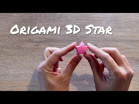 How To Make A Paper Star / Easy Origami Lucky Star
