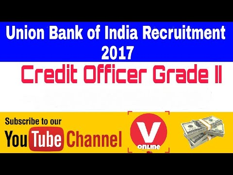 Union Bank Of India Recruitment Apply Online For Credit Officer Posts