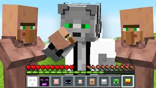 Me Paso Minecraft Pero Puedo COMER Todos los MOBS!!