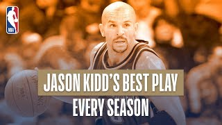 Jason Kidd's Best Play From Every Season