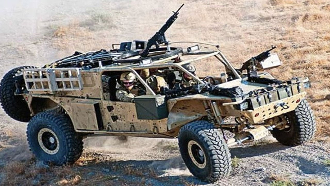 25 Cutting Edge Military Vehicles You Wish You Could Test ...