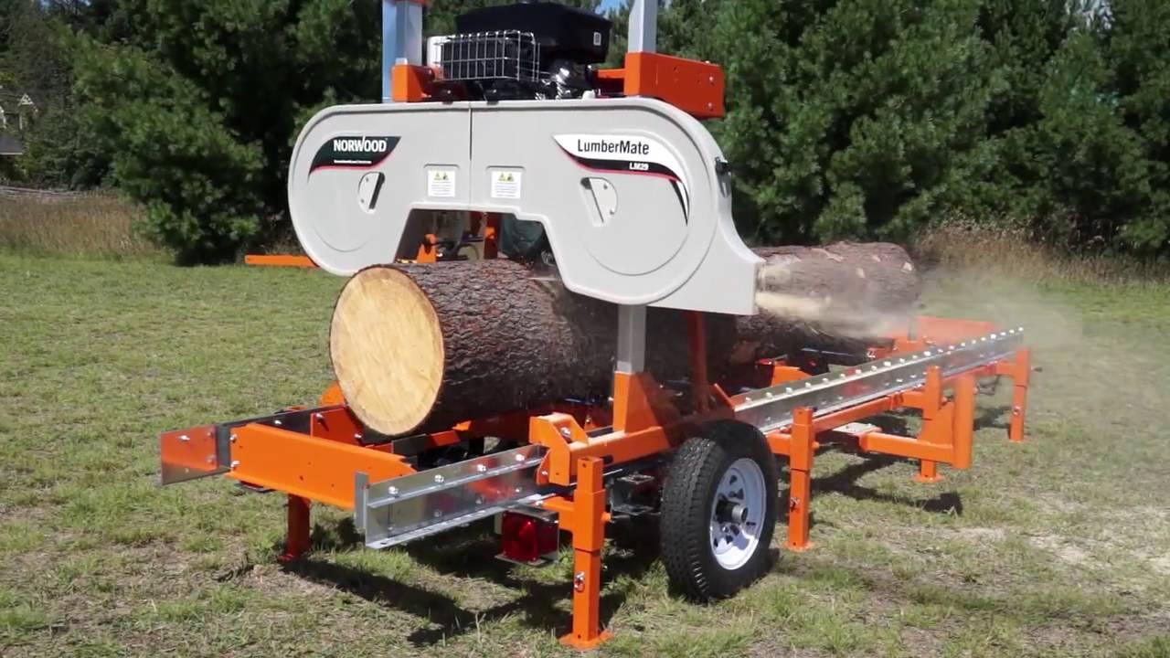 Norwood Lumbermate Pro Hd36 Sawmill