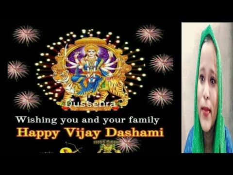 Ll Wishing You And Your Family Ll Happy Vijaya Dashami.(Indian Youtuber Shifa Ansari)