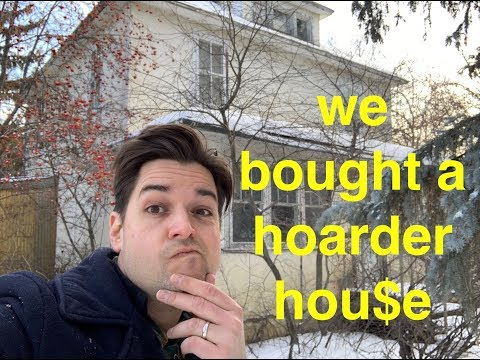 We bought a hoarded house! 100 years of stuff! what will we find???