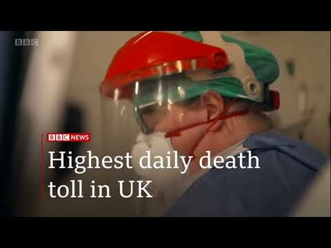 2020 April 11 BBC One minute World News