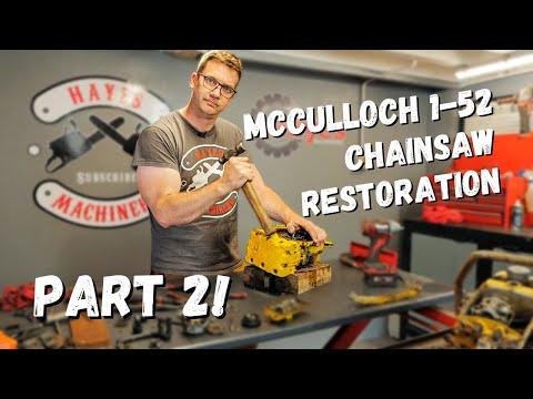 Mcculloch 1-52 Chainsaw