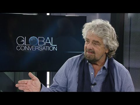 'Political amateurs are conquering the world,' Beppe Grillo tells euronews - global conversation
