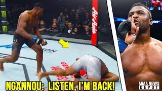 UFC Pros react to Ngannou vs Blaydes; Ngannou targets Stipe next; Overeem wants Ngannou rematch next
