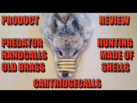 Cartridecalls Review And How To Hand Call Coyotes