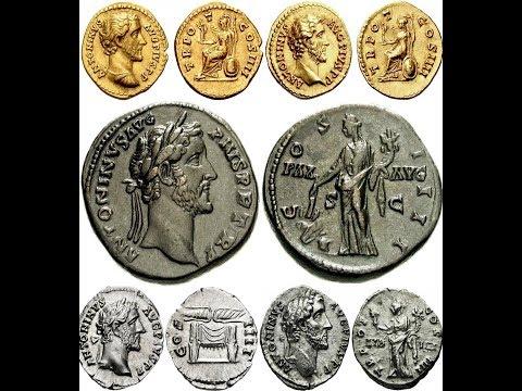 ✅ Монеты Древнего Рима, АНТОНИН ПИЙ, Часть 6, 🔝 Coins Of Ancient Rome, Antoninus Pius 🌍