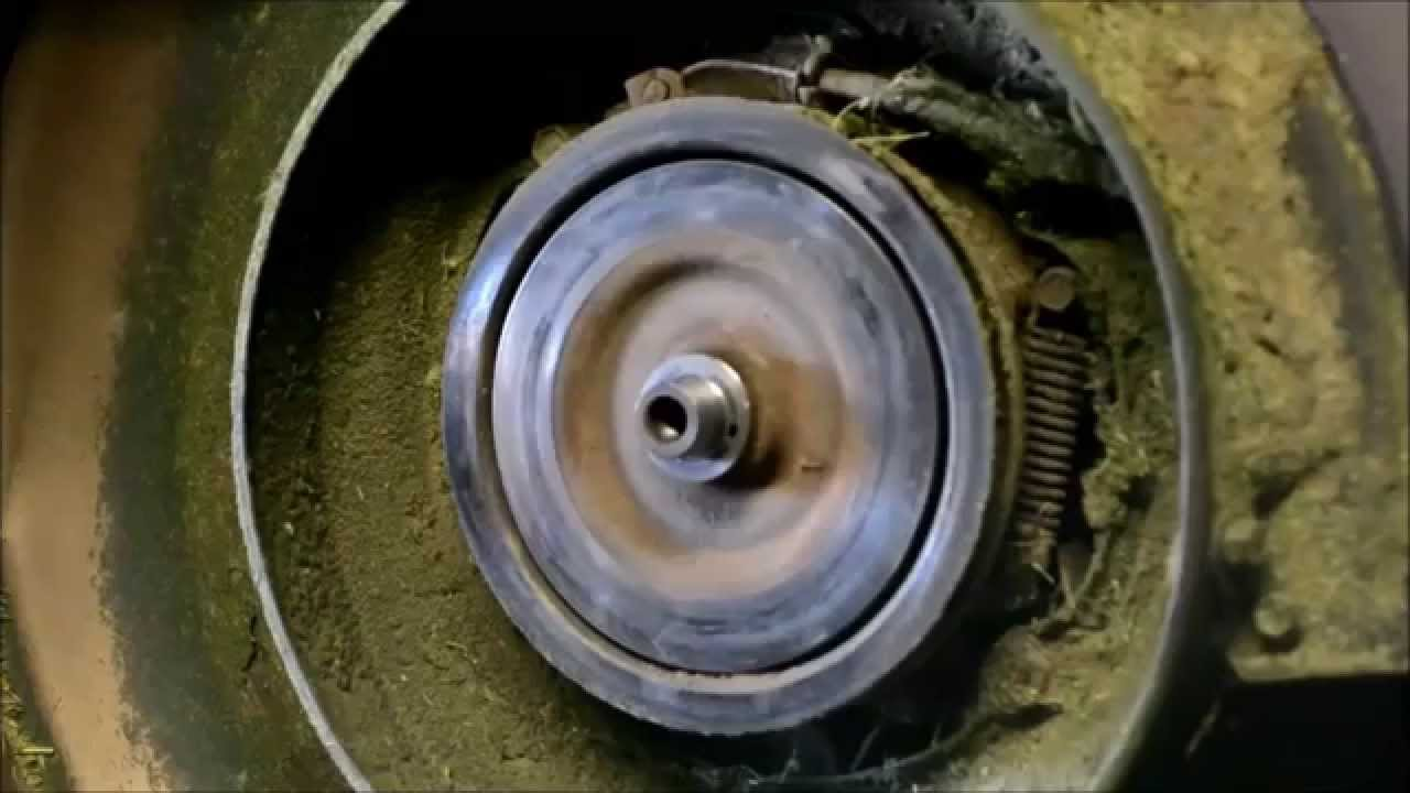 HONDA LAWN MOWER REPAIR : Honda HRC 216 K3 Blade Clutch Rebuild Parts 1,2, And 3 - YouTube