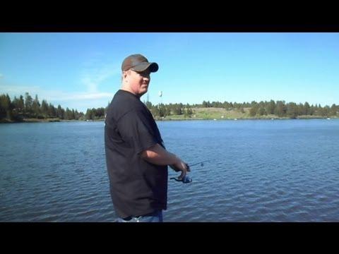 Fishing At Winchester Lake: An Idaho State Park (HD)