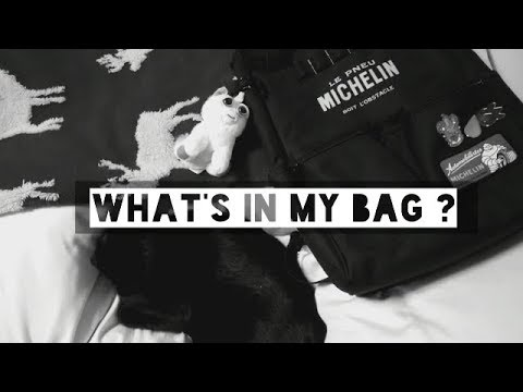 What's in my bag? | バッグの中身紹介