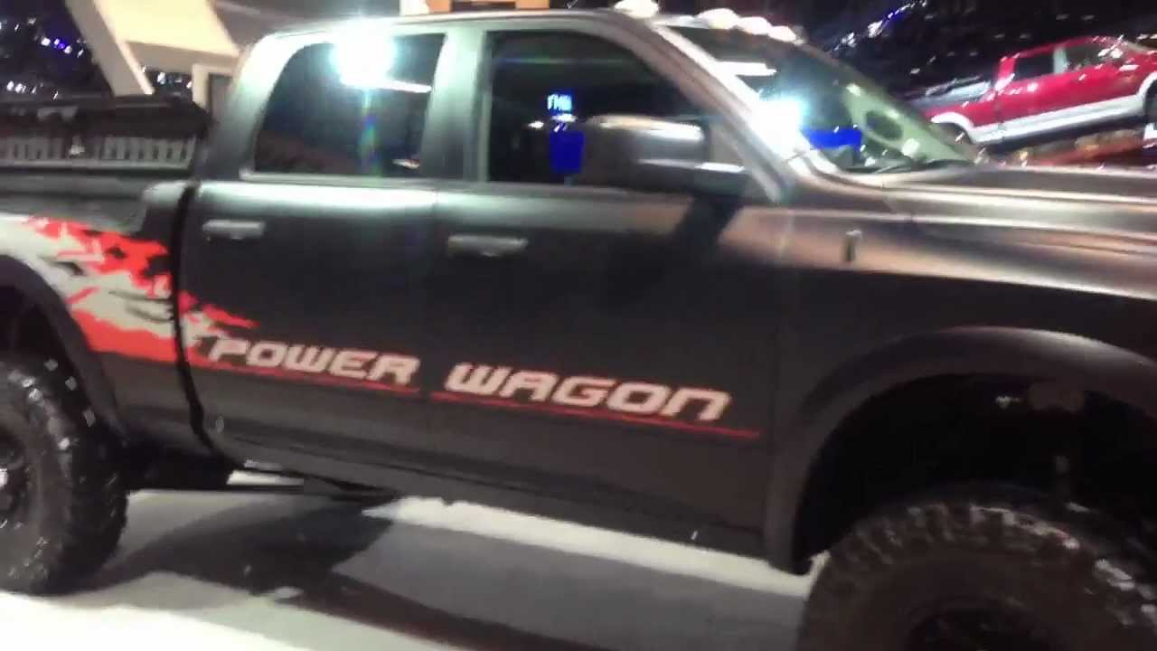 2014 dodge ram power wagon youtube. Cars Review. Best American Auto & Cars Review
