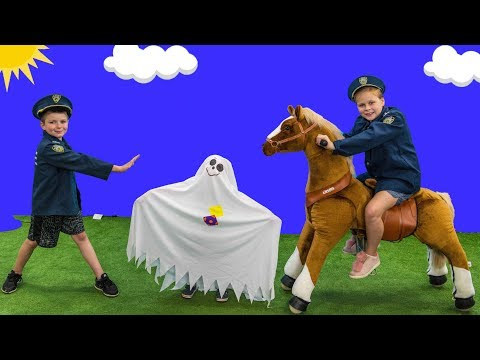 Paw Patrol Hunt with Assistant and Batboy Ryan hunting for the silly Ghost
